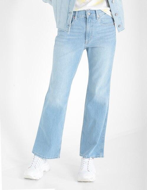 Jeans acampanado GAP corte cintura para mujer en Liverpool